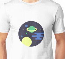 Space scene Unisex T-Shirt