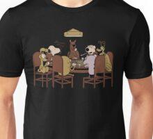 Poker dogs Unisex T-Shirt