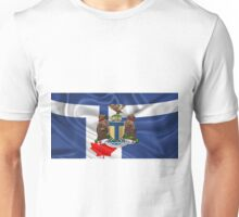 Toronto - Coat of Arms over City of Toronto Flag  Unisex T-Shirt