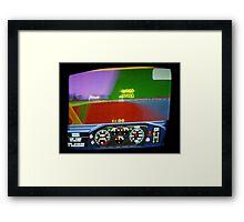 Arcade - Drunk driving Framed Print