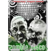 zombie disco iPad Case/Skin