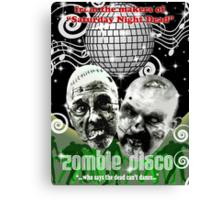 zombie disco Canvas Print