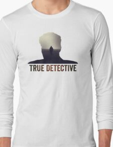 True Detective Intro Tshirt Long Sleeve T-Shirt