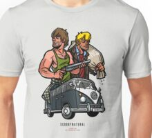 Scoobynatural: Fred and Shaggy Unisex T-Shirt