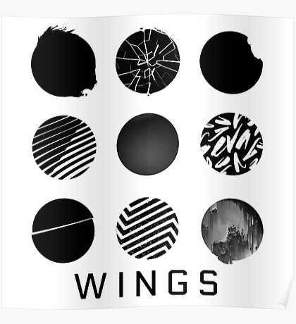 BTS - WINGS Poster