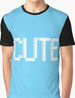 CUTE  - pixelated  Graphic T-Shirt