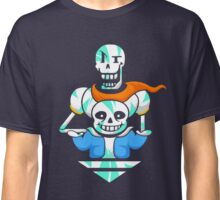 Sans and Papyrus Arrow Classic T-Shirt