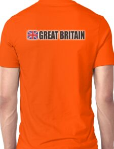 GREAT BRITAIN, Union Jack, British Flag, UK, United Kingdom, Unisex T-Shirt