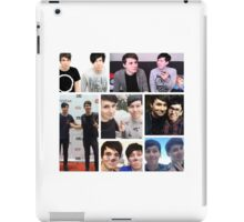 Dan and Phil Collage iPad Case/Skin