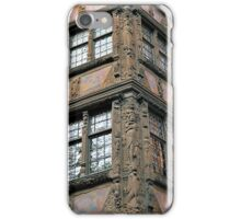 German Renaissance in France: Kammerzell House in Strasbourg iPhone Case/Skin
