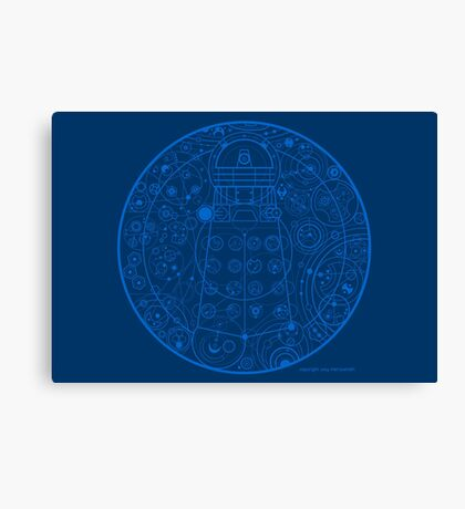 Sign of the Dalek Canvas Print