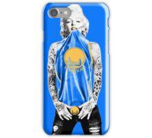 Marilyn Monroe For Golden States Warrior iPhone Case/Skin