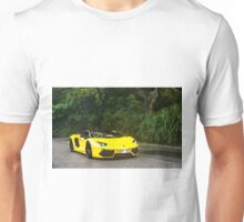 Lamborghini Aventador LP700-4 Pirelle Edition in yellow Unisex T-Shirt