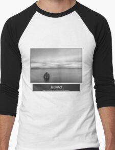 Iceland Men's Baseball ¾ T-Shirt