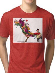 Akiraaaaaah! Tri-blend T-Shirt