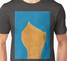 Gold and Teal Unisex T-Shirt