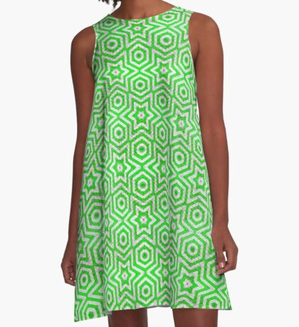green moves the world A-Line Dress