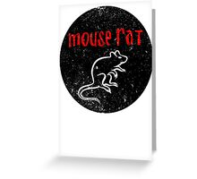 We are Mouse Rat! Greeting Card