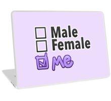 Third Option • Male, Female, ME • Non-Binary Laptop Skin