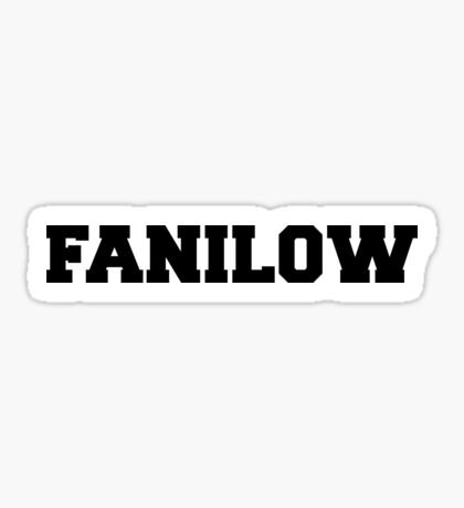 FANILOW - Varsity Sticker