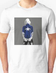 Marilyn Monroe For Dallas Cowboys Unisex T-Shirt