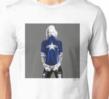 Marilyn Monroe For Dallas Cowboys Unisex T-Shirt
