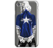 Marilyn Monroe For Dallas Cowboys iPhone Case/Skin