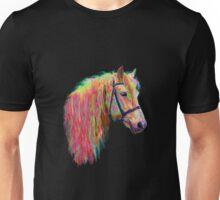 Rainbow pony. Unisex T-Shirt