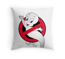 Casper Busted Throw Pillow