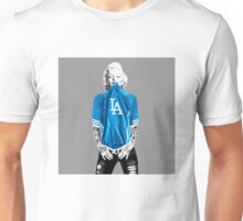 Marilyn Monroe For L.A Dodgers Unisex T-Shirt