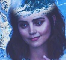 jenna coleman Sticker