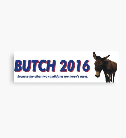 Butch the Donkey 2016 Canvas Print