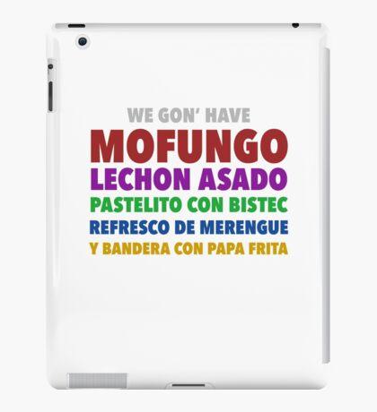 Mofongo iPad Case/Skin