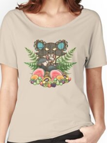 Tubby Tiki Rat Women's Relaxed Fit T-Shirt