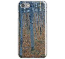 Gustav Klimt - Beech Grove I 1902  iPhone Case/Skin