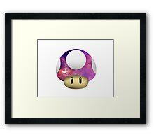 Galactic Shroom Framed Print