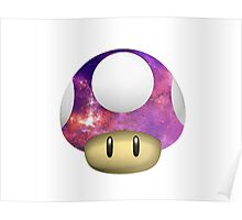 Galactic Shroom Poster