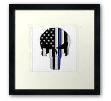 Police Punisher Framed Print