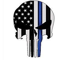 Police Punisher Photographic Print