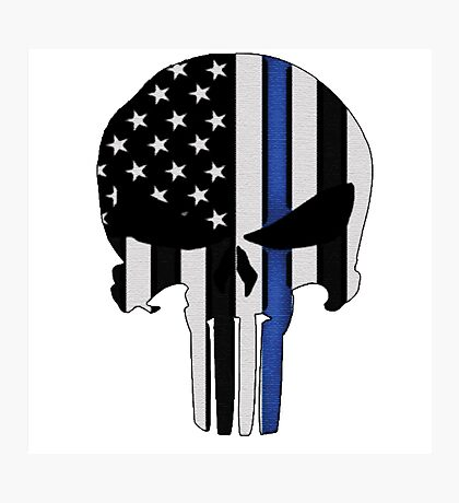 Police Punisher Photographic Print