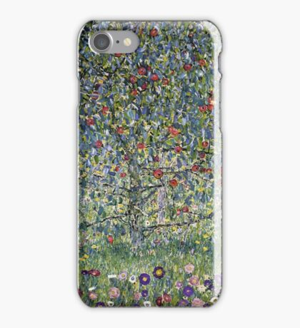 Gustav Klimt - Apple Tree I iPhone Case/Skin