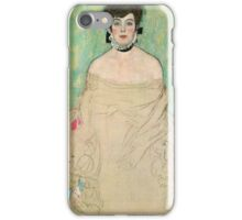 Gustav Klimt - Amalie Zuckerkandl 1918 iPhone Case/Skin