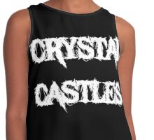 Crystal Castles Cool Logo Contrast Tank