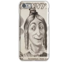 Performing Arts Posters This is it Johnny on the spot a Bill Nye musical farce 0922 iPhone Case/Skin
