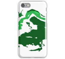Abstract Green iPhone Case/Skin