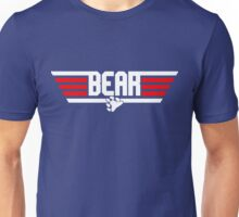 Bear Top Gun Unisex T-Shirt