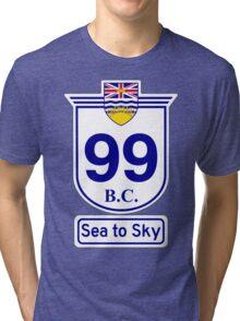 British Columbia 99 - Sea to Sky Tri-blend T-Shirt