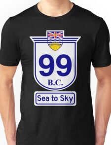 British Columbia 99 - Sea to Sky Unisex T-Shirt