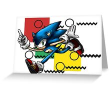 Sonic the Hedgehog Greeting Card