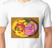 Flowers In A Bubble Unisex T-Shirt